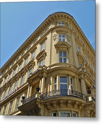 Metal Print featuring the photograph Classical Architecture In Vienna by Kirsten Giving