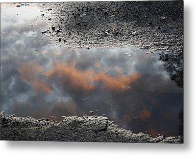 Clouds Are Closer Metal Print by Devon Stewart