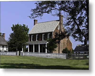 Clover Hill Tavern Appomattox Virginia Metal Print by Teresa Mucha