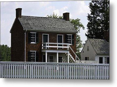 Clover Hill Tavern Kitchen Appomattox Virginia Metal Print by Teresa Mucha