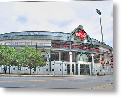 Metal Print featuring the photograph Coca Cola Field  by Michael Frank Jr