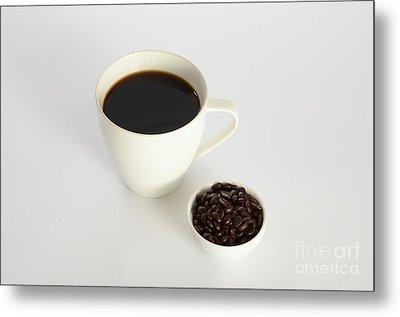 Coffee Metal Print by Photo Researchers, Inc.