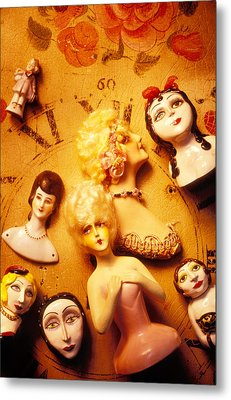 Collectable Dolls Metal Print by Garry Gay