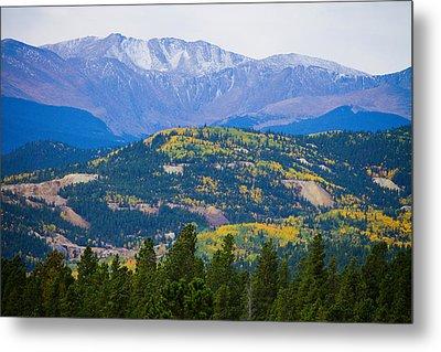 Colorado Rocky Mountain Autumn View Metal Print by James BO  Insogna