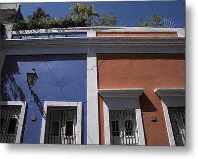 Colorful Architecture In Old San Juan Metal Print by Scott S. Warren