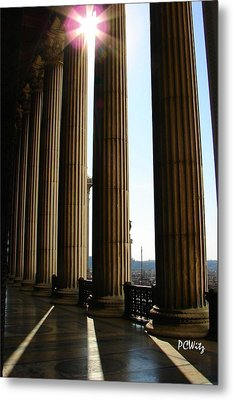Metal Print featuring the photograph Columns by Patrick Witz
