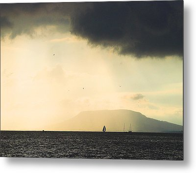 Comes The Storm Metal Print by Odon Czintos