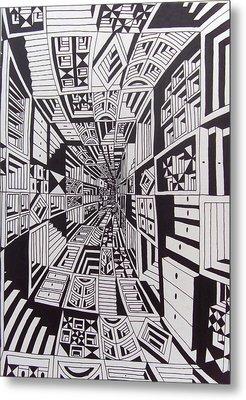 Conceito Metal Print by Mario Fresco