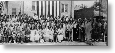 Convention Of The National Association Metal Print by Everett