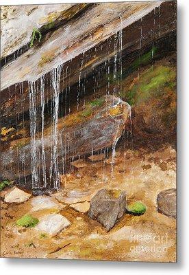Cool Water Metal Print by Carla Dabney