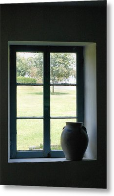Metal Print featuring the photograph Country Window by Michelle Joseph-Long