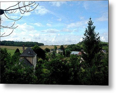 Metal Print featuring the photograph Countryside by Pravine Chester