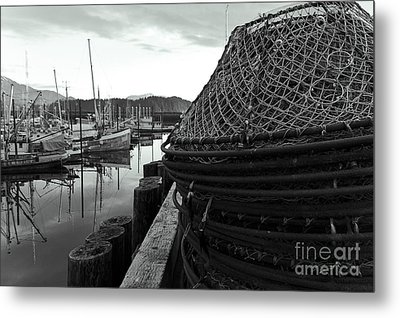 Crab Traps Metal Print by Darcy Michaelchuk
