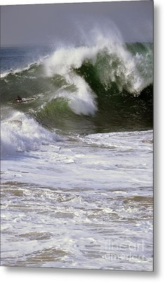 Crashing Wave Metal Print by Timothy OLeary