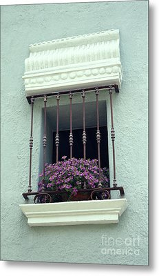 Metal Print featuring the photograph Cuernavaca Window  Mexico by John  Mitchell