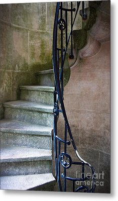 Curly Stairway Metal Print by Carlos Caetano