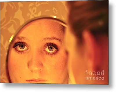Daddy's Eyes Metal Print by Sherry Davis