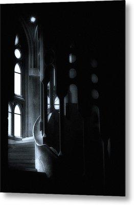 Dark Passage II Metal Print by Lynn Andrews