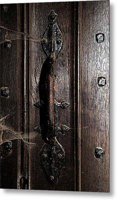 Dark Tales In The Canterbury Cathedral Metal Print by Lisa Knechtel