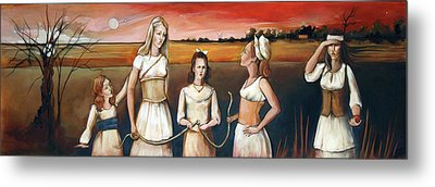 Daughter's Of Eve Metal Print by Jacque Hudson