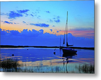 Day's End Metal Print by Rick Berk
