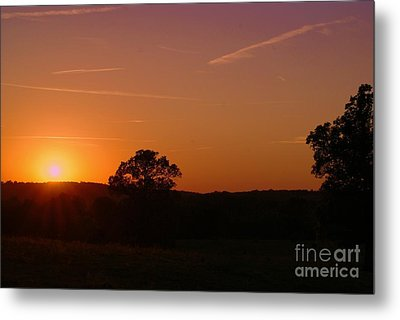Metal Print featuring the photograph Day's Final Rays by Julie Clements