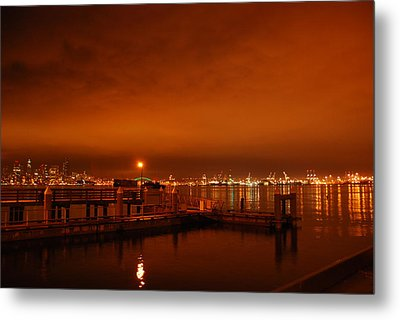 December Daybreak Metal Print