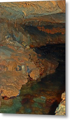 Deep Within The Earth Metal Print by DigiArt Diaries by Vicky B Fuller