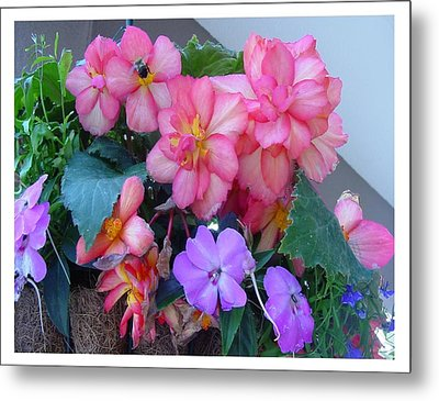 Metal Print featuring the photograph Delightful Potpourri Of Pastels by Frank Wickham
