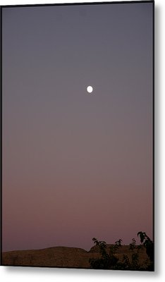 Metal Print featuring the photograph Desert Moon by Marta Alfred