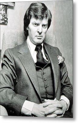 Don Imus, Radio Personality, 1970s Metal Print by Everett
