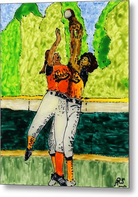 Double Play Metal Print by Phil Strang