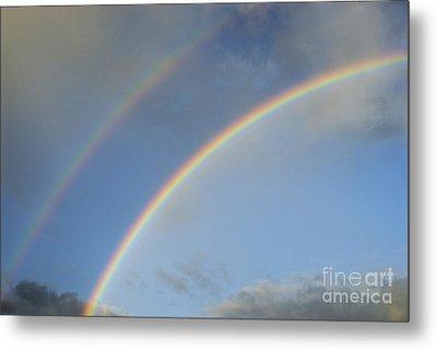 Double Rainbow Metal Print by Sami Sarkis