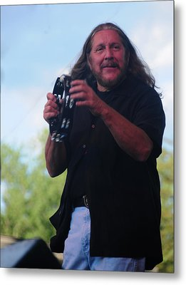 Metal Print featuring the photograph Doug Gray by Mike Martin