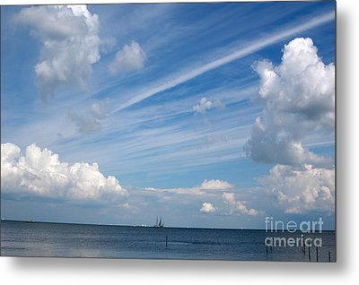 Drama In The Sky Metal Print by Vilas Malankar
