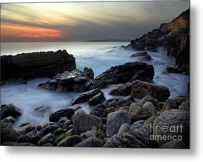 Dramatic Coastline Metal Print by Carlos Caetano