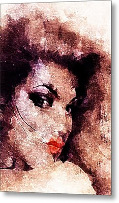 Dreamgirl Metal Print by Andrea Barbieri