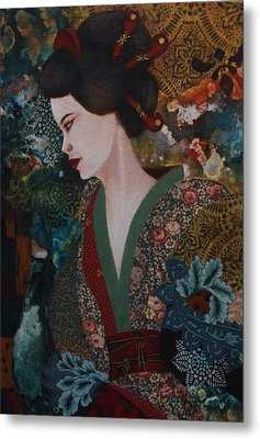 Dreaming Japan Metal Print by Gonca Yengin