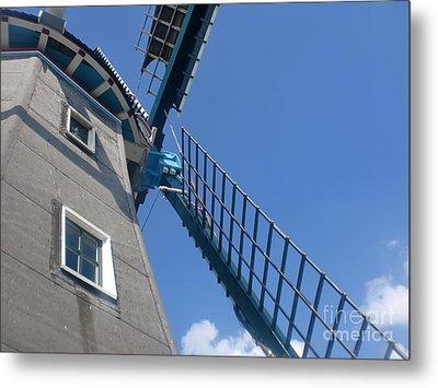 Dutch Windmill Metal Print by Anastasis  Anastasi