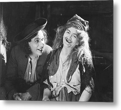 D.w. Griffith: Film, 1922 Metal Print