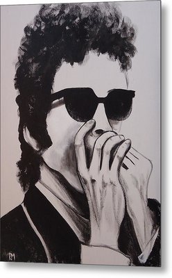 Dylan Metal Print by Pete Maier