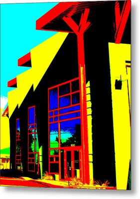 Edges Metal Print