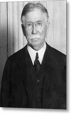 Edward L. Doheny, Oil Magnate Metal Print by Everett