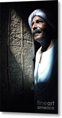 Egyptian Portrait 2 Metal Print by Bob Christopher