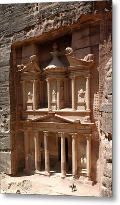 Elaborate Sandstone Temple Or Tomb Metal Print by Luis Marden