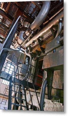 Electric Plant Metal Print by Carlos Caetano