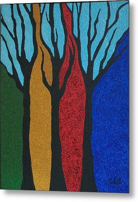 Elements Metal Print by Carolyn Cable