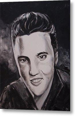 Elvis Metal Print by Pete Maier