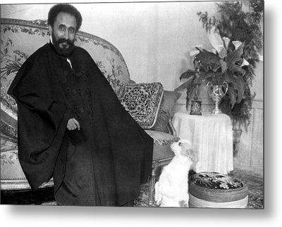 Emperor Haile Selassie, Circa 1930-1935 Metal Print by Everett
