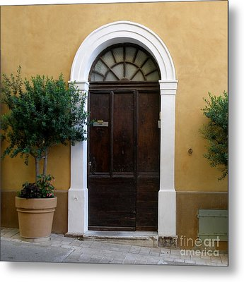 Metal Print featuring the photograph Enchanting Door by Lainie Wrightson